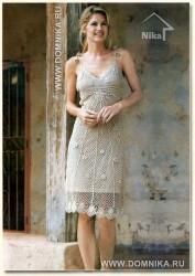 Платье  тонкая работа