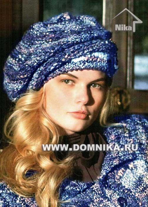 Вязание шапок с описанием из журналов 93