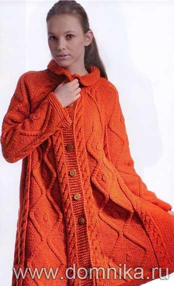 Дефекты вязаного женского пальто