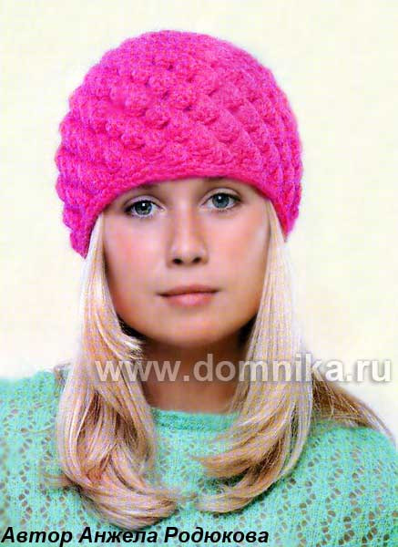 Крючок вязание шапок зимних