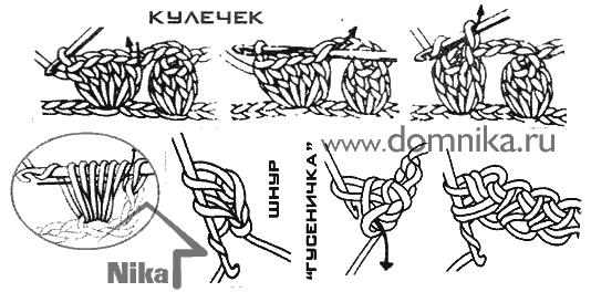 Тунисское вязание крючком 61