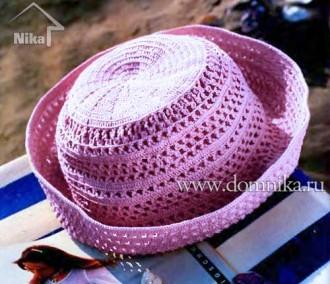 Вязание крючком шляпы