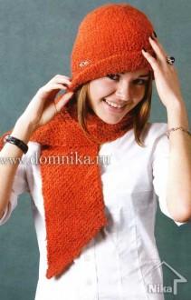 Вяжем красную шапочку