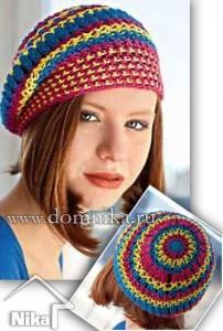Схемы вязаных шапок
