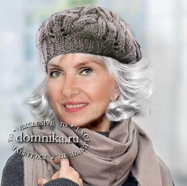шапки и береты для дам пожилого возраста - новые модели на осень