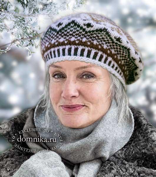 Береты и шапки для женщин старше 60 лет
