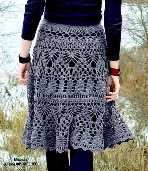ажурные юбки