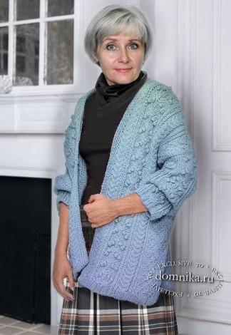 кардиган для полных женщин пожилого возраста
