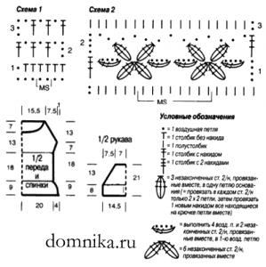 belaja-koftochka-krjuchkom-shema