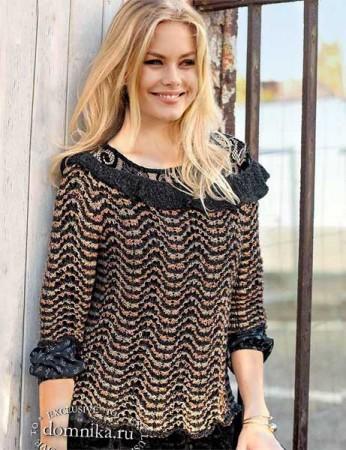 pulover-s-volnistym-uzorom1