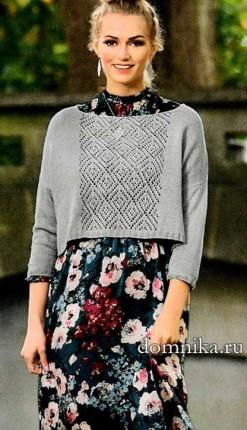svobodnyj-pulover-korotkij-spicami