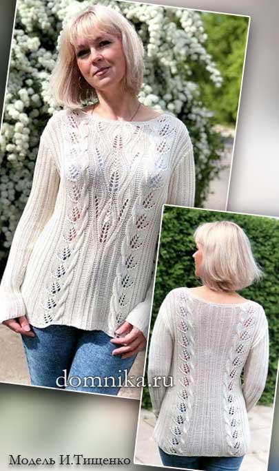 pulover-s-listjami-1