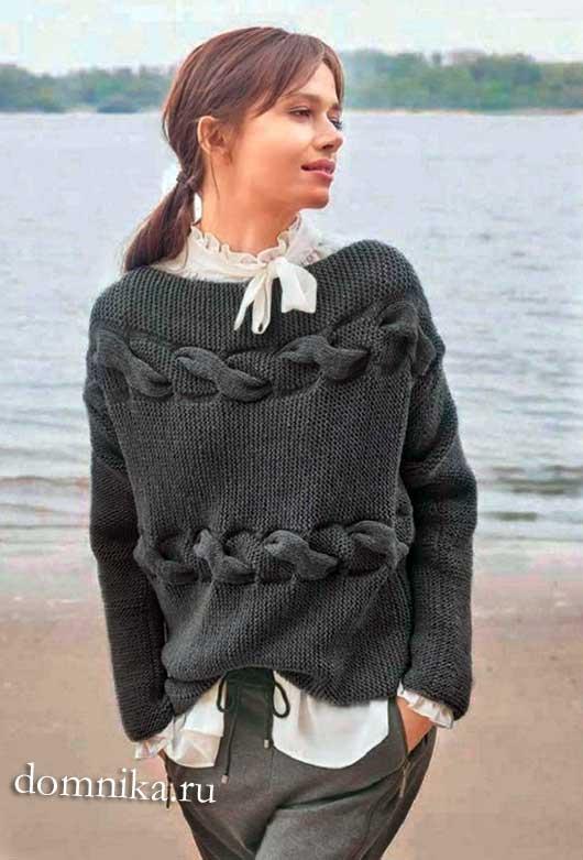 Модные модели пуловеров для женщин