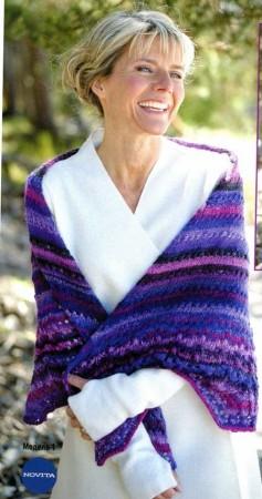 шаль для женщин старше 60 лет