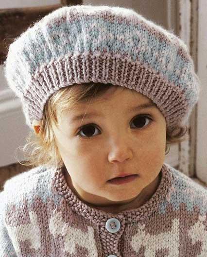 Вязаные шапки для девочек (50 фото) детские шапки спицами