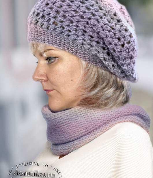 Простая шапка для женщин 60 лет за 1 вечер