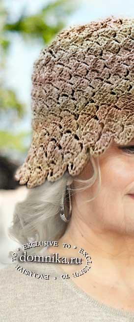Летняя шляпка для дам пожилого возраста