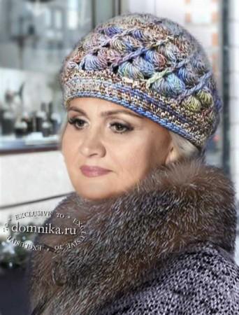 Вязание шапки для пожилых женщин