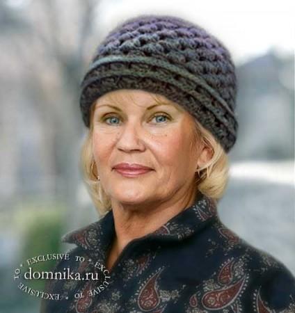 Шапочки для пожилых женщин старше 60 лет