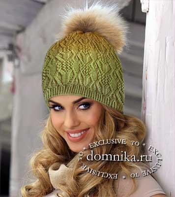 Вязаные шапки на осень и зиму