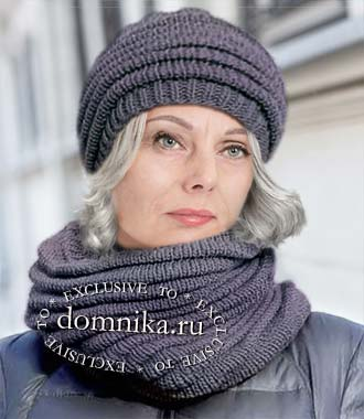 Модные шапки на зиму для женщин 60 лет
