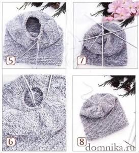 мастекласс вязание шапки продолжение фото