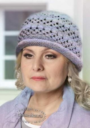 Вяжем шапки для пожилых женщин старше 60 лет