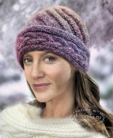 Зимние шапки для пожилых женщин