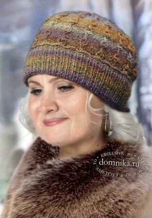 Зимняя шапка для женщины после 60 лет