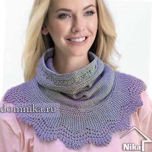 snud-spicami Снуд спицами для женщин: схемы вязания, новинки, узоры, размеры. Как связать красивый шарф снуд хомут, капюшон, трубу, с косами, ажурный спицами с описанием?