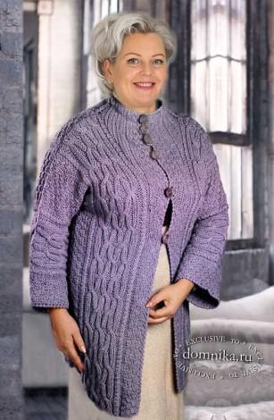 Вязаная одежда для дам пожилого возраста