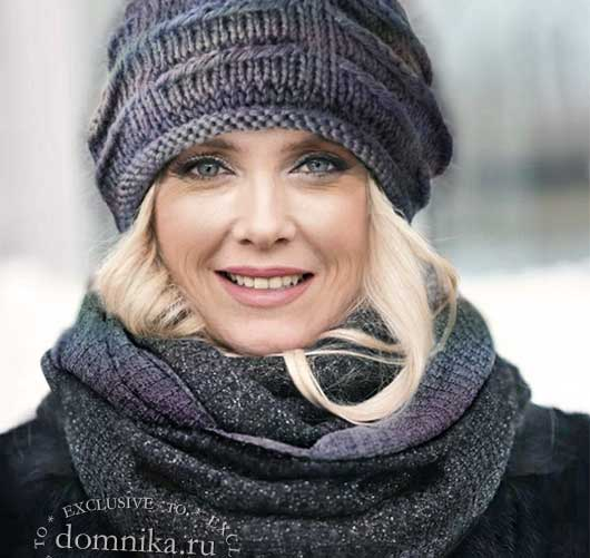 Шапки, шапочки и береты для женщин 60 лет на зиму 2021 года