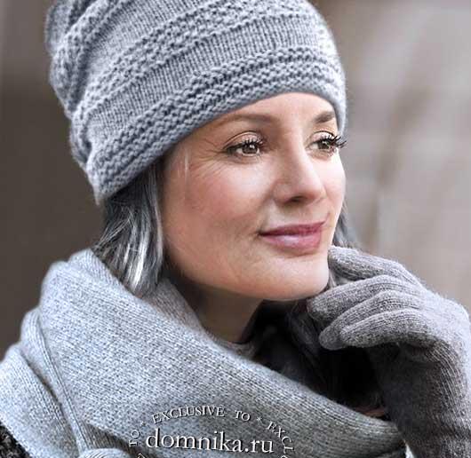 Вязание зимних шапок для женщин