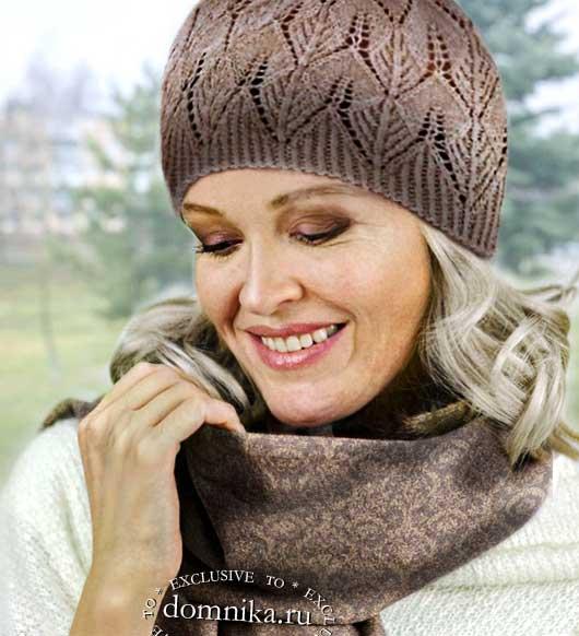 Выбрать шапку для женщины 56 лет