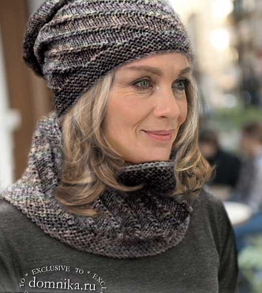 Стильные шапки и береты для женщин 50 лет