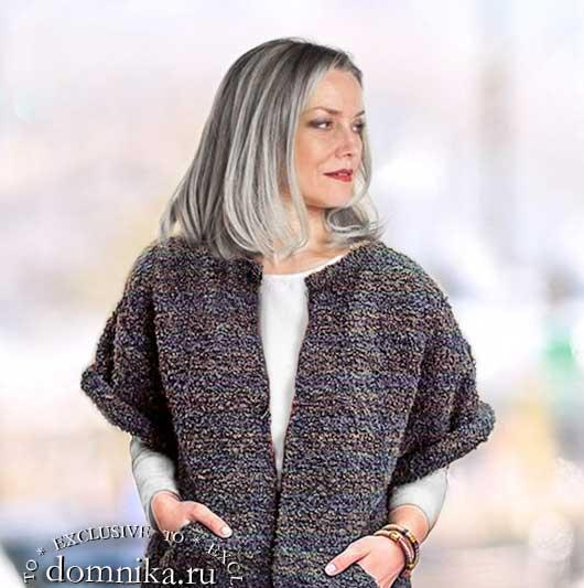 жилеты жакеты для женщин 60 лет 52-54 размера