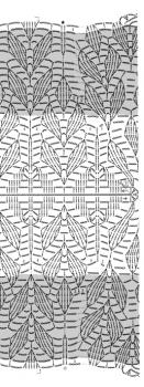 схема вязания безрукавки крючком для женщин