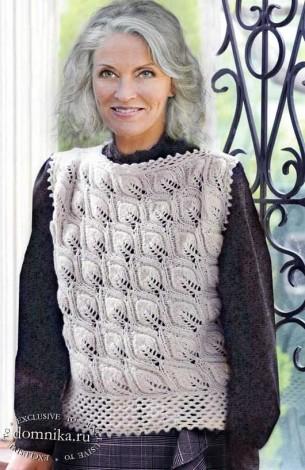 Жилеты и безрукавки для женщин старше 60 лет